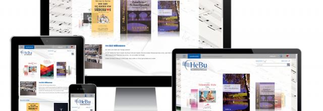 HeBu Musikverlag - Onlineshop (Silex / Twig)