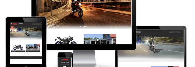 Motorrad Bogner - Webseite (WordPress)